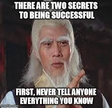 Success Meme - o wise master imgflip