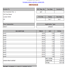 service invoice template online free archives word templates