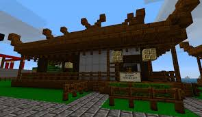 japanese town town minecraft project