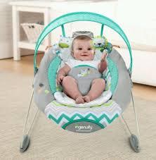 baby bouncer seat infant rocker chair danglinganimals ingenuity