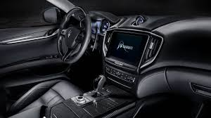 maserati ghibli black 2018 maserati ghibli gransport 4k interior wallpaper hd car