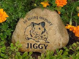 garden memorial stones hamster memorial stones and pet hamster grave markers