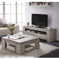 cuisine tv fr demeyere 230345 ségur banc tv mdf chêne chagne 140 x 42 x 47 cm