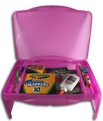 Kids Storage Lap Desk by Kids Folding Lap Desk Pink Foldable Lap Tray With Storage