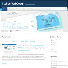 business web design template free website templates in css html