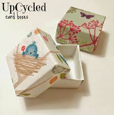 20 Upcycled And One Of by Upcycled Card Boxes Easy Upcycled Crafts For Kids Paper Boxes