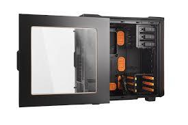 be quiet silent base 600 computer case with window orange