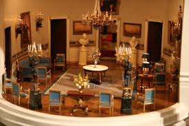 photo white house miniature blue room ford museum and white
