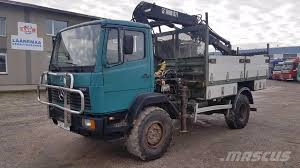 mercedes 4x4 trucks mercedes 1317 ak 4x4 crane trucks price 9 595 year of
