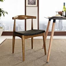 dining chair set of 2 by modway w black leatherette seat