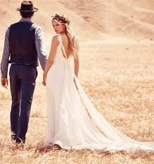 outdoor wedding dresses why boho wedding dress for an outdoor wedding milanoo