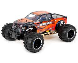 monster jam remote control trucks rampage mt v3 1 5 4wd monster truck by redcat racing rerrampage