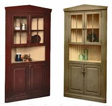 honey brook woodcrafts corner cupboards