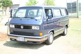 volkswagen vanagon blue ornery blue 2503 texas vw classic
