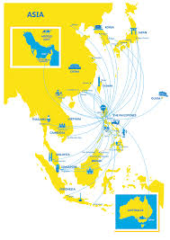 South Pacific Map Network L Cebu Pacific Air