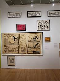 keith haring the artchival here are some photos from the brooklyn museum exhibition