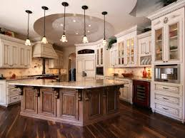 Custom Kitchen Design Ideas Glass Front Wooden Cabinets And A Custom For The Cool Eclectic