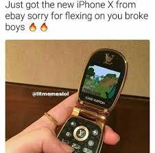 Iphone 4 Meme - dopl3r com memes just got the new iphone x fronm ebay sorry