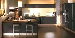 idee cuisine deco deco cuisine noir decoration cuisine mu00e9langez le noir le blanc