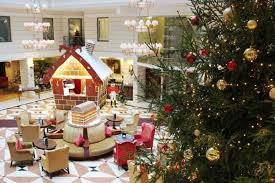 17 most festive hotels in europe to celebrate christmas 2017