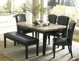 Stone Dining Room Table - fascinating stone top dining table dining tables astonishing black