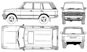 white range rover png index of blueprints land rover