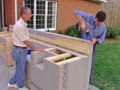 diy outdoor kitchen island how to build an outdoor kitchen and bbq island outdoor barbeque