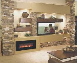 fireplace simple wall hung electric fireplace decoration ideas