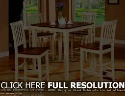 White Pub Table Set - furniture licious pub table and chairs diy harthaven stool set