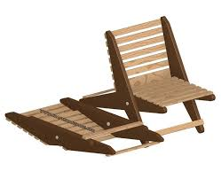 Free Building Plans For Outdoor Furniture by Folding Chair Plan
