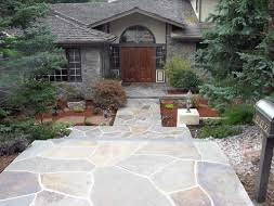 creative low maintenance flagstone designs cal native