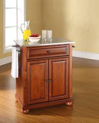 Crosley Steel Kitchen Cabinets by Amazon Com Crosley Furniture Alexandria Cuisine Kitchen Island