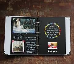 classmates notebook 9 white pocket book waterproof paste type diy classmates