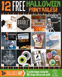 12 free halloween printables i heart nap time