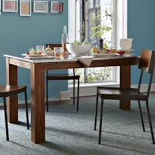 Rustic Kitchen Rectangular Dining Table West Elm - Rustic kitchen tables