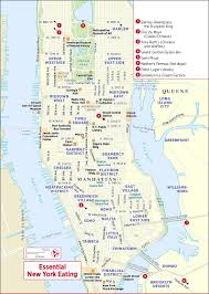 New York On Map Simple Map Of New York City Major Tourist Attractions Maps Best