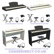 chase p 65 digital electric portable piano with hammer action