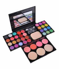 Makeup Kit ads fashion colour makeup kit eye shadow blusher lipstick makeup