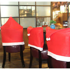 christmas chair back covers 100 cotton christmas winter table chair covers pieces ebay