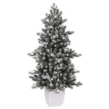 ge 4 ft led cool white artificial tree