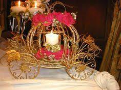 cinderella wedding lite carriage coach centerpiece cinderella