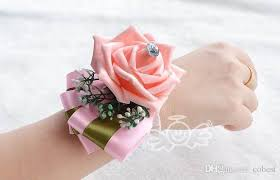 cheap corsages classical wedding bridesmaid wrist corsages wedding