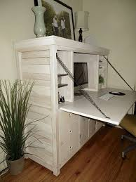 Building A Wooden Desktop by The 25 Best Hidden Desk Ideas On Pinterest Woodworking Desk