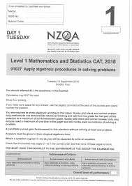nzqa level 1 maths exams published in entirety following calls for
