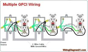 gfci outlet wiring diagram somurich