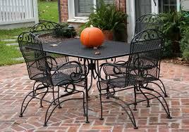 Mesh Patio Furniture White Metal Mesh Patio Table Home Design Ideas
