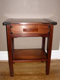 Free Mission End Table Plans by Simplified Free Mission Furniture Plans For A Bedside Or End Table