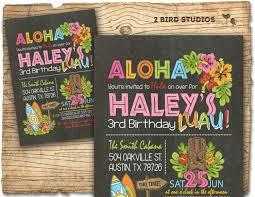 luau birthday party hawaiian birthday invitation luau birthday invitation