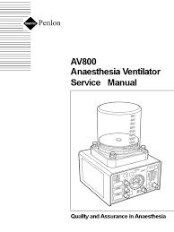 ventilador de anestecia av 800 service manual breathing