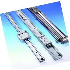 Popular Guia linear com patim / em alumínio / sem manutenção / com trilho  &OP86